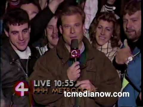 Twins 1991 World Series Post Game Coverage October 19, 1991 WCCO News