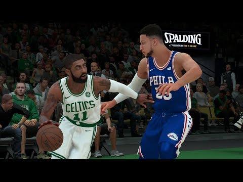 NBA Today 11/30/2017 - Philadelphia Sixers vs Boston Celtics - Full NBA GAME SIM (NBA 2K18)