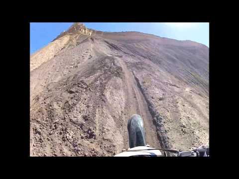 Grand Junction Colorado Dirtbike Riding Skinny Ridge Super Airport Single Track Trail Ride