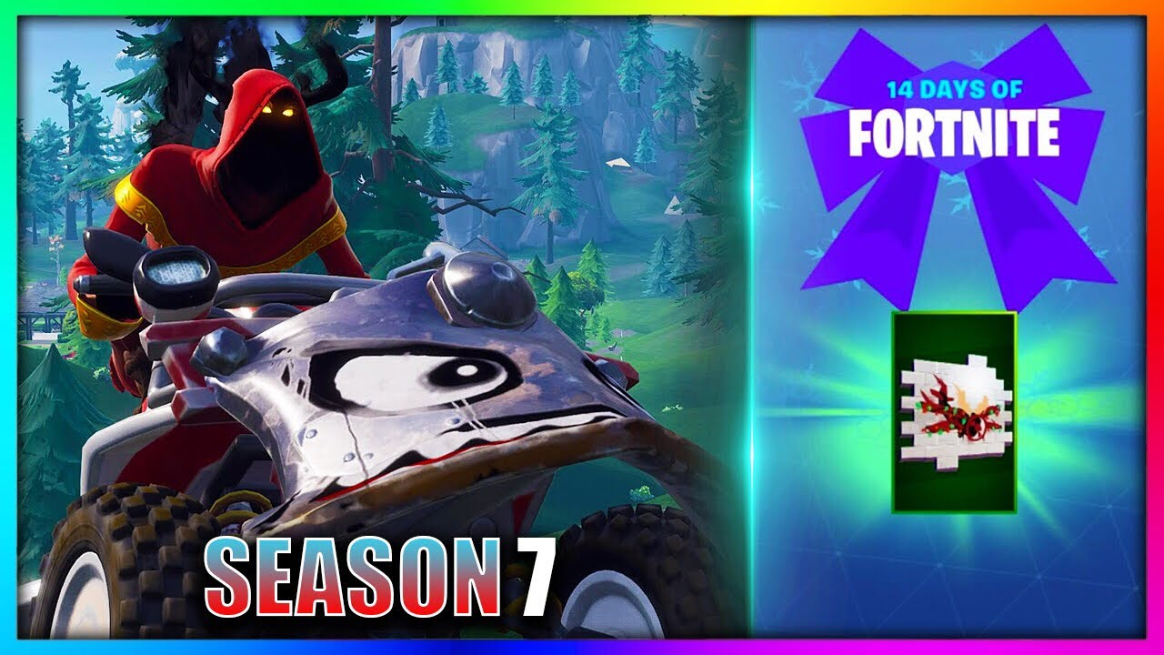 land tricks in a vehicle at different named locations 14 days of fortnite challenge spray reward - vehicle locations fortnite season 7