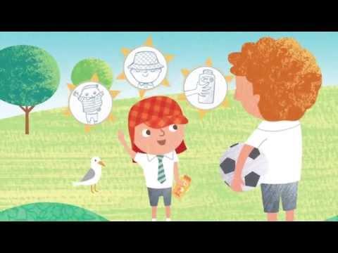 George The Sun Safe Superstar - Book Animation
