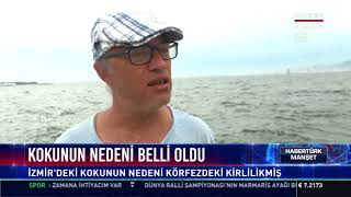 İzmir'deki kokunun nedeni belli oldu