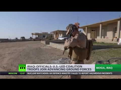 US troops 'in combat' in Mosul, some have been wounded – Pentagon