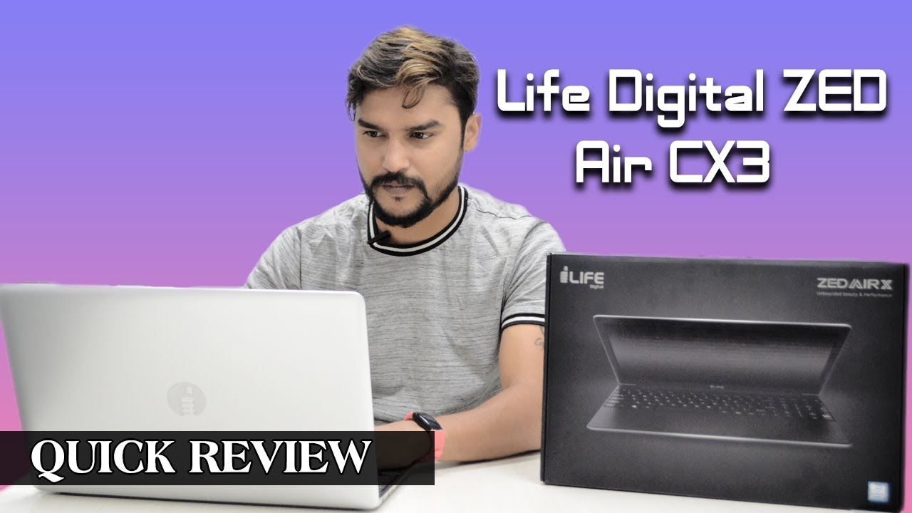 Life Digital Zed Air Cx3 Laptop Quick Review Youtube
