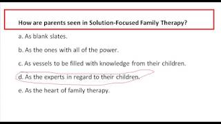 How are parents seen in Solution-Focused Family Therapy?