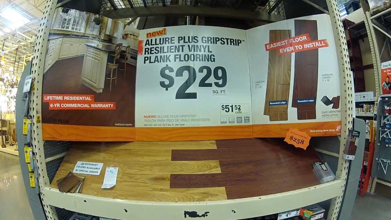 Allure Plus Gripstrip Laminate Flooring And Plank Vinyl