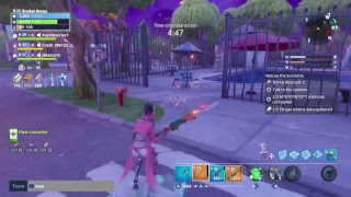 Clear Mission Medbot Quest Fortnite