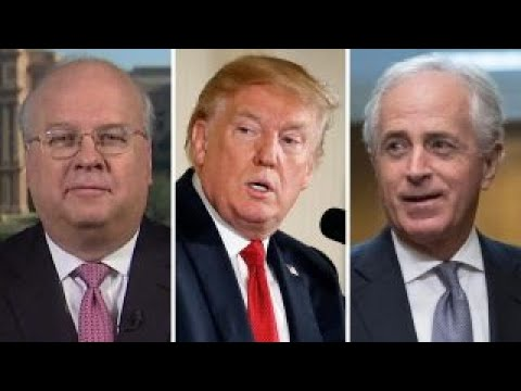 Karl Rove: Trump-Corker feud 'not helpful to the cause'