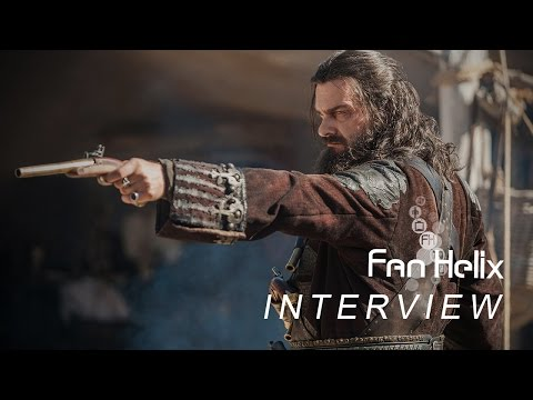 NYCC15: Black Sails Interview - Ray Stevenson