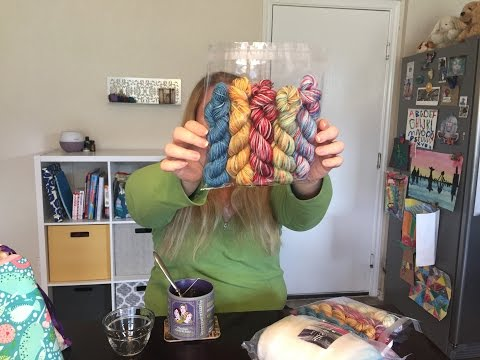 BookishStitcher Podcast Episode 133: Tornadoes and Mini Skein Sets