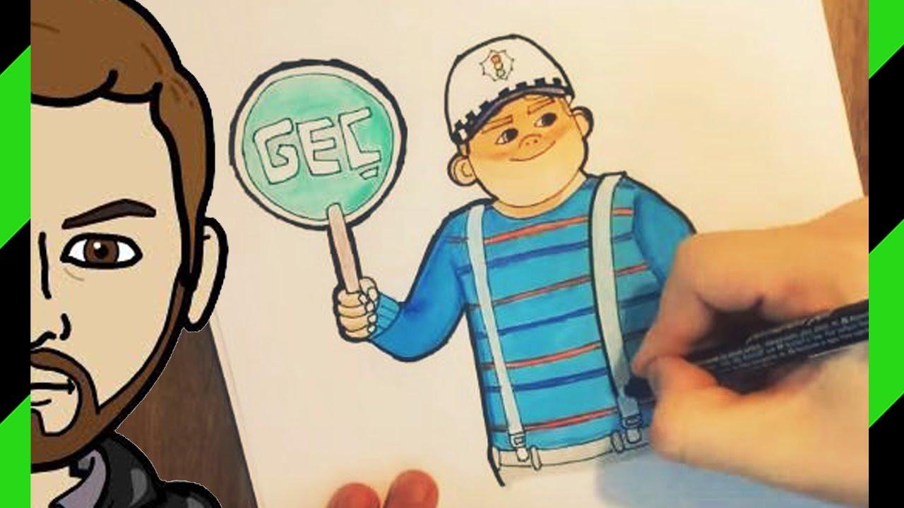 Rafadan Tayfa Hayri Trafik Polisi çizim Ve Boyama Youtube