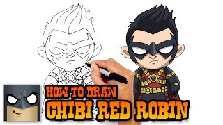 How to Draw Red Robin | DC Comics
