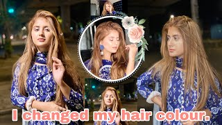 Vlog: I changed my Hair colour 💖 | Arishfa Khan