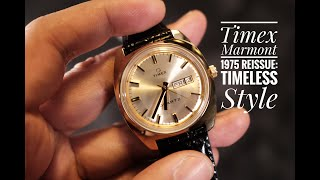 Timex Marmont 1975 Reissue Watch Review: Timeless Style