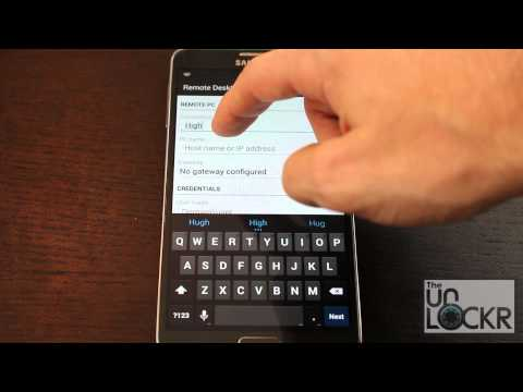 How To Use Windows 8 Remote Desktop On Your Android Device