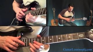 Van Halen - Dreams Guitar Solo Lesson - Famous Solos