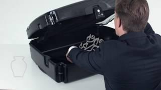 Swiss Luggage Carbon Fiber Suitcase
