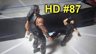 HD #87 ~ Roman Reigns vs. Seth Rollins & Kane (RAW)