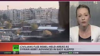 Syrian govt forces liberate ten districts of east Aleppo from rebels