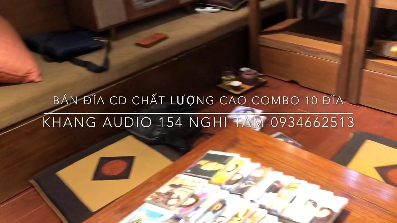 BÁN ĐĨA CD CHẤT LƯỢNG CAO COMBO 10 ĐĨA
