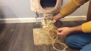 Drapak dla kota - jak naprawić