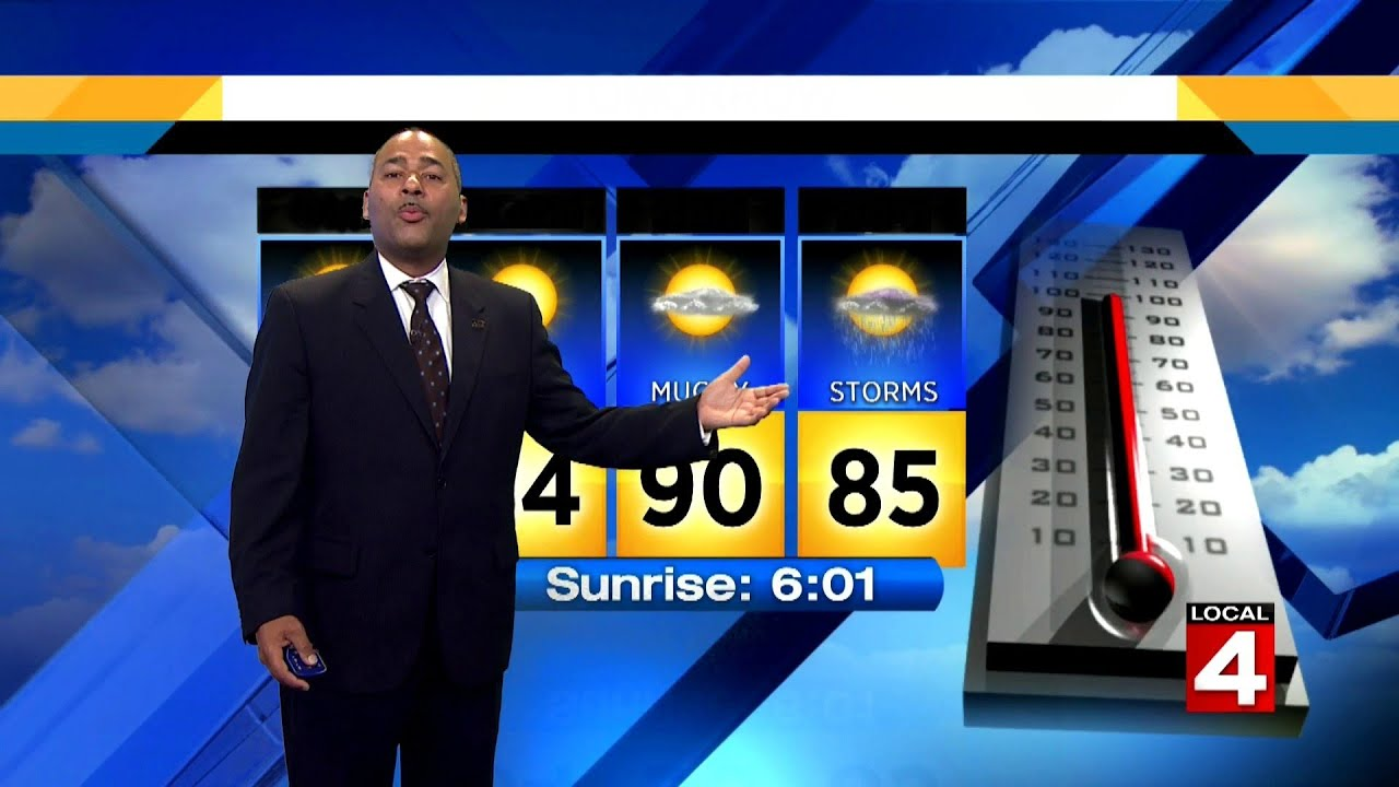 metro detroit weather brief, 6/30/2019, 7 p.m. update