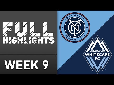 HIGHLIGHTS: New York City FC vs. Vancouver Whitecaps | April 30, 2016