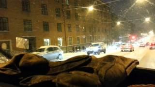 Talvi yllätti autoilijat Turussa osa 2
