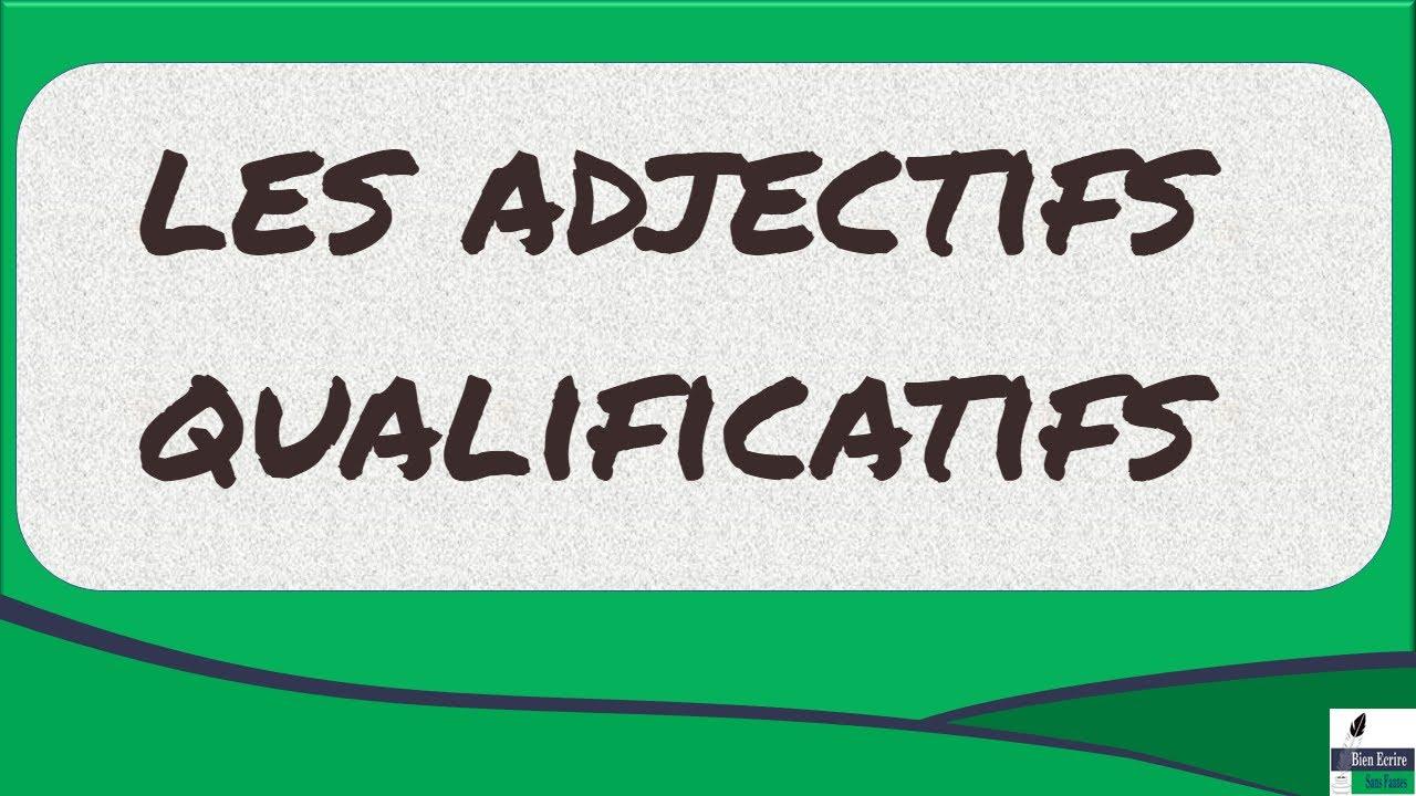 Tout savoir sur les adjectifs qualificatifs en 4 minutes for Tout savoir sur le poussin