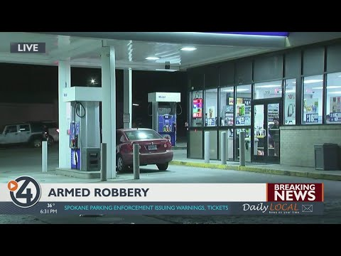 Police respond to reported armed robbery on South Hill
