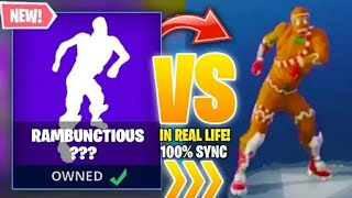 Fortnite RAMBUNCTIOUS in Real Life!!
