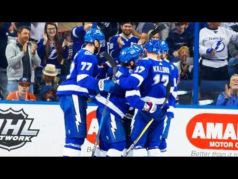 Dave Mishkin calls all 3 Lightning goals from win over Oilers