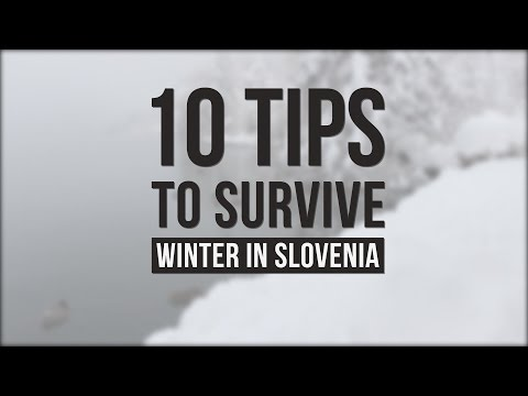 How to Survive Winter in Slovenia? ❅ ☃