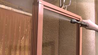Povrchová úprava dřevěných oken v PKS okna a.s. (součást videa