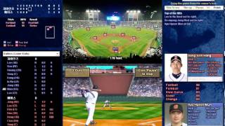Baseball Mogul 2013 KBO mod Test