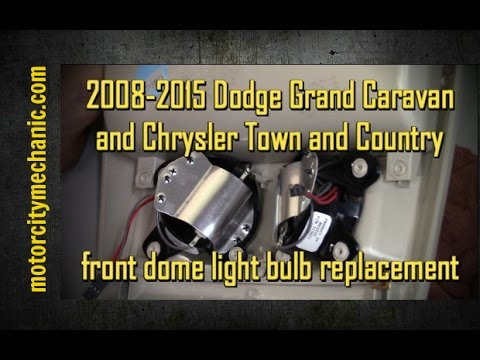 2008-2015 Grand Caravan and Town and Country front dome light bulb