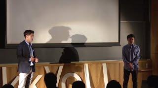 ジャーナリズムで感じた「感謝は力」|綿谷 達人 + 小西 遊馬 | Tatsuhito Watatani & Yuma Konishi | TEDxRikkyoU