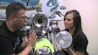 TOTW Kuryakyn Phase 7 Headlamp and Passing Lamps Review and Installation HD Video