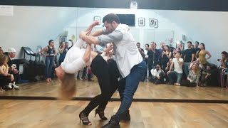 Kiko & Christina [Bachata Sensual] Demo @ Musketeers in LONDON / UK