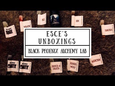 Unboxing my Black Phoenix Alchemy Lab order