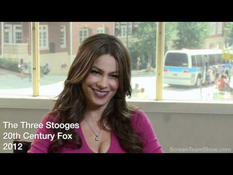 "Sofia Vergara ""Lydia"" HD Interview - The Three Stooges"