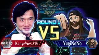 Yu-Gi-Oh! YugiTuber Grand Championship 2017 R1 | KanyeWest315 vs. YugiNoNo!