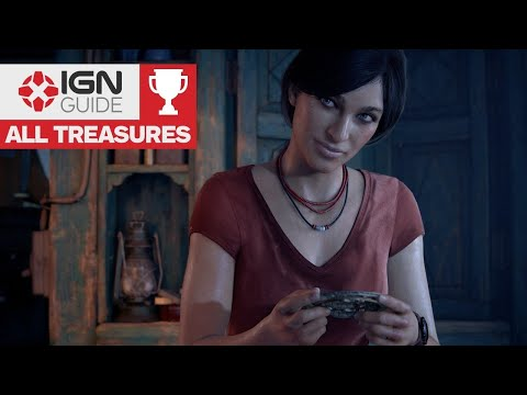 Uncharted: The Lost Legacy - All Treasure Locations