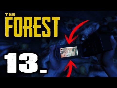 THE FOREST - ENCUENTRO LA CAMARA Y VEO LAS CINTAS, QUIEN ES ELLA?¿ #13 - GAMEPLAY ESPAÑOL