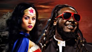 Repeat youtube video Wonder Woman vs Stevie Wonder.  Epic Rap Battles of History.