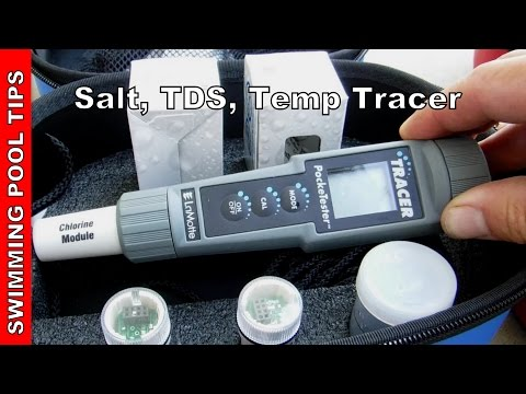 Salt, TDS, Temperature TRACER PockeTester With Carrying Case By LaMotte