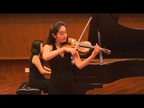 F. Chopin : Nocturne in c sharp minor for violin and piano_ YuEun Kim, Violin / 쇼팽 녹턴 : 바이올리니스트 김유은