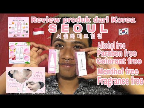 Review Seoul serum dari Korea tapi tulisan Thailand