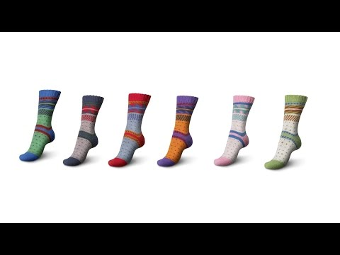 How to knit two identical socks with Regia Pairfect by ARNE & CARLOS