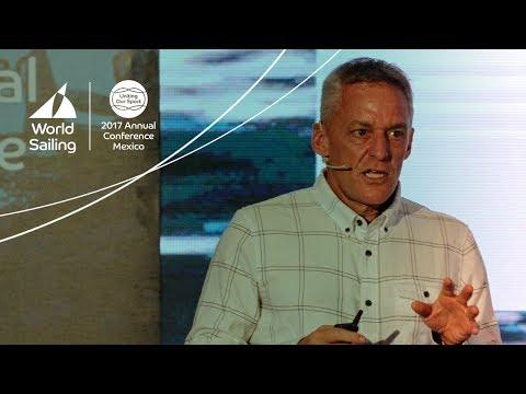 Joe Jacobi keynote speech at World Sailing Balancing the Boat Forum